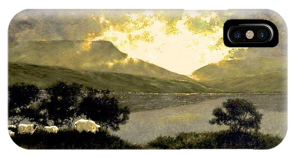 iPhone Case - View Of Ben Bulben by Jim Gola