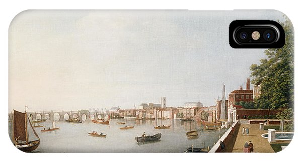 View Of The River Thames From The Adelphi Terrace  IPhone Case