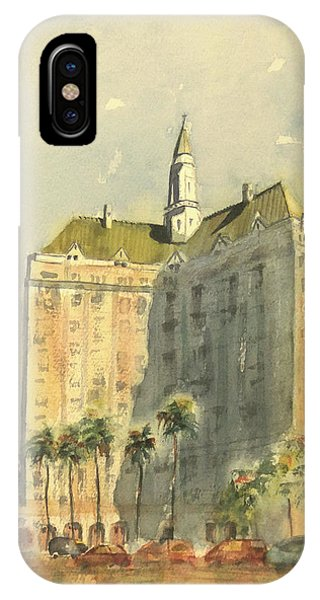 Villa Riviera Another View IPhone Case