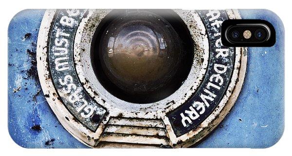 Dispenser iPhone Case - Vintage Detail Of A Gas Pump by Priska Wettstein