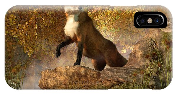 Vixen By The River IPhone Case