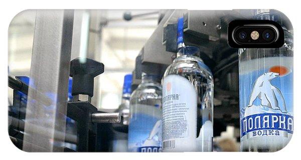 Vodka Bottling Machine Phone Case by Ria Novosti
