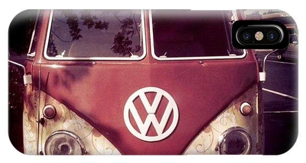 Vw Bus iPhone Case - Vw Bus by Brooke Cain