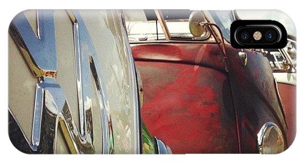 Vw Bus iPhone Case - #vw Splity by Doc Ward
