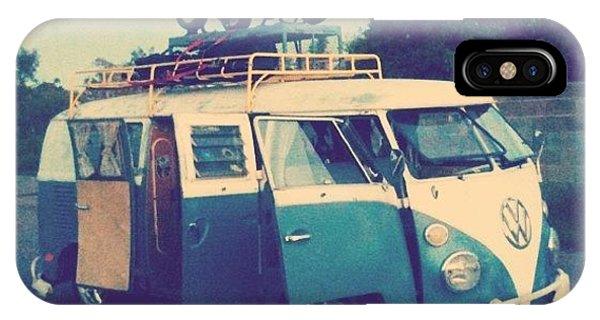 Vw Bus iPhone Case - #vw #vintage #safari #lowered #bus by CactusPete AZ