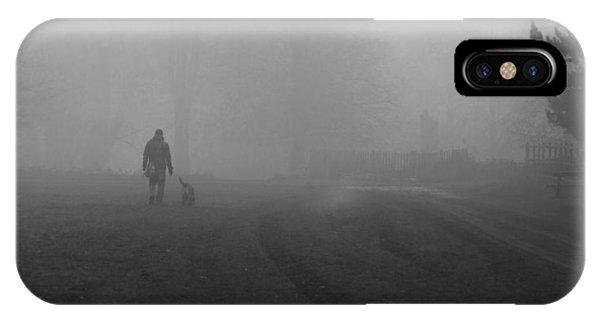 Walk The Dog IPhone Case