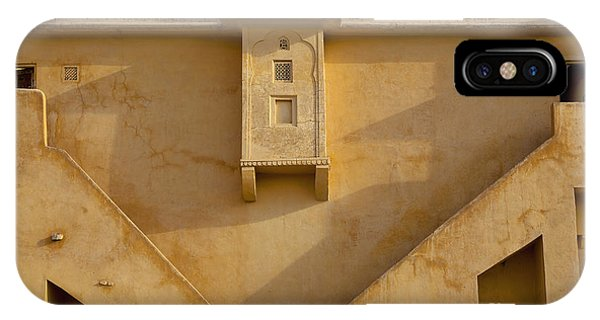Wall Of The Amber Fort Phone Case by Inti St. Clair