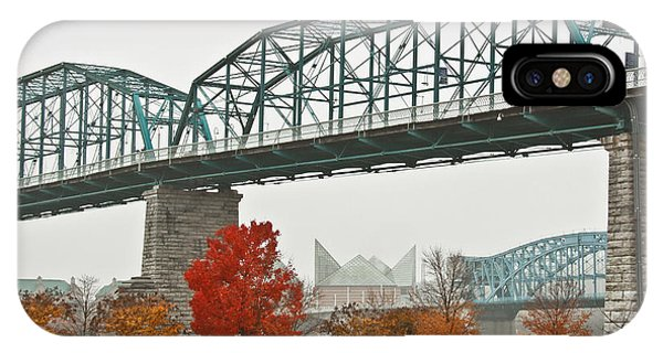 Walnut Street Bridge IPhone Case