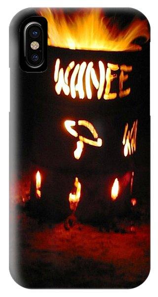 Wanee Fire IPhone Case