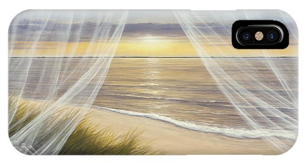 Warm Breeze Panoramic View IPhone Case