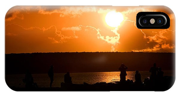IPhone Case featuring the photograph Watching Sunset by Yew Kwang