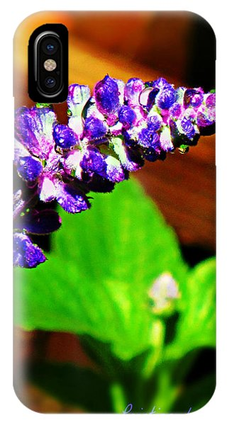 IPhone Case featuring the photograph Water Drops by Deahn      Benware