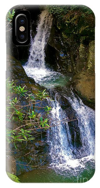 Waterfall In The Currumbin Valley IPhone Case