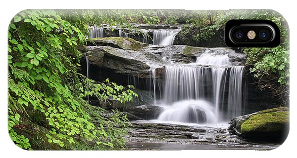 Waterfall Near Mabbitt Spring IPhone Case