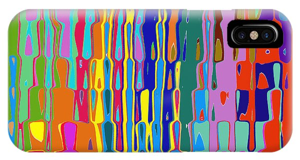 Waterfall Of Colour IPhone Case