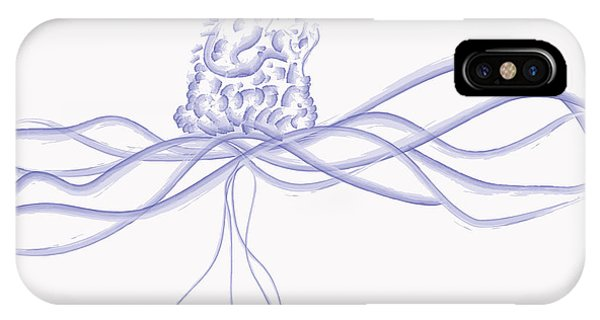 Waveflower IPhone Case