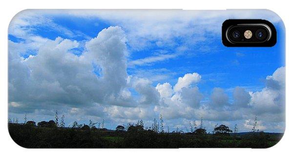 Welsh Sky IPhone Case
