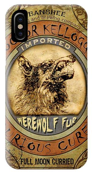 Werewolf Fur  IPhone Case