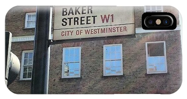 London iPhone Case - #westminster #bakerstreet #baker by Abdelrahman Alawwad