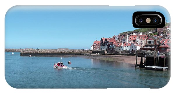 Whitby Postcard IPhone Case