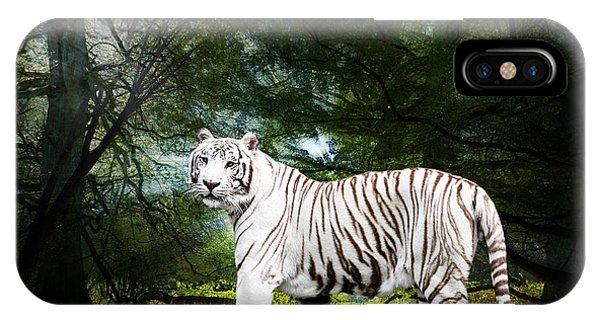White Bengal IPhone Case