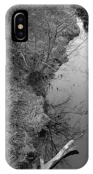 White Branch Riverside  IPhone Case