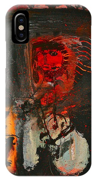 IPhone Case featuring the painting Whole Lava Love by Cliff Spohn