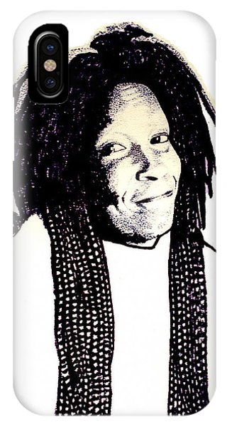 Whoopi IPhone Case