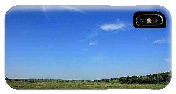 Wide Open Alberta Prairies IPhone Case