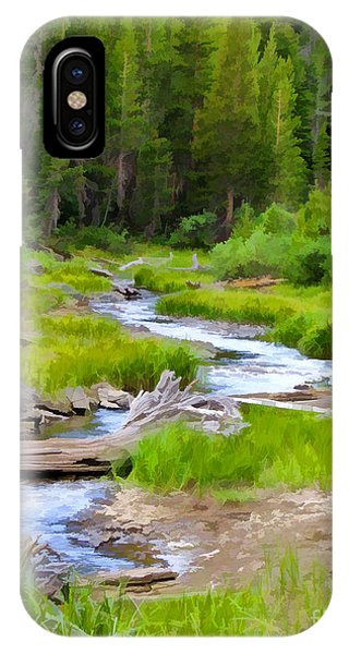 Wilderness Stream IPhone Case
