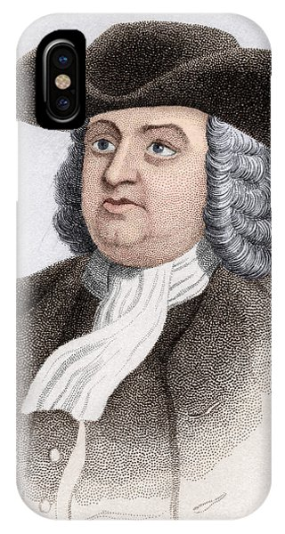 William Penn, English Coloniser Phone Case by Sheila Terry