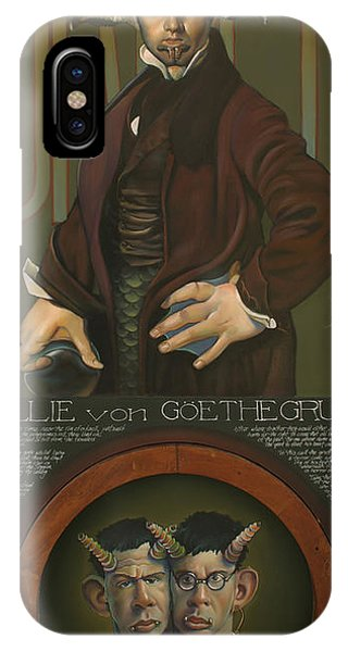 Willie Von Goethegrupf IPhone Case