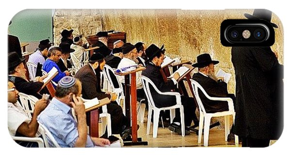Travel iPhone Case - Wilson's Arch  Torah Ark Inside by Tommy Tjahjono