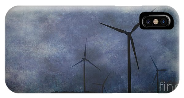 Windmills. IPhone Case