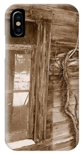 Window And Vine IPhone Case