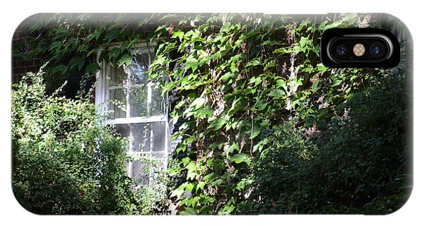Window And Vines IPhone Case