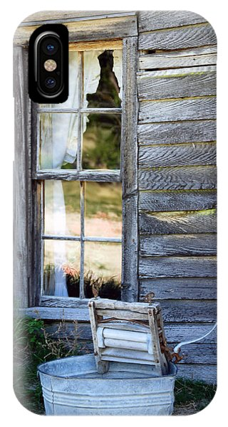IPhone Case featuring the photograph Window On Prairie Life by Judy Hall-Folde