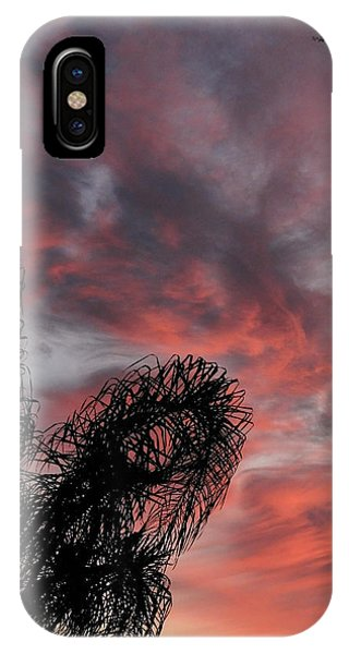 Windswept Clouds IPhone Case