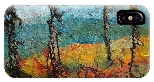Windswept Pines IPhone Case