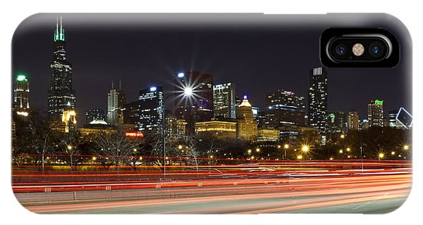 Windy City Fast Lane IPhone Case