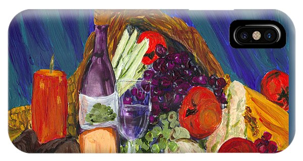 Wine Cornucopia IPhone Case