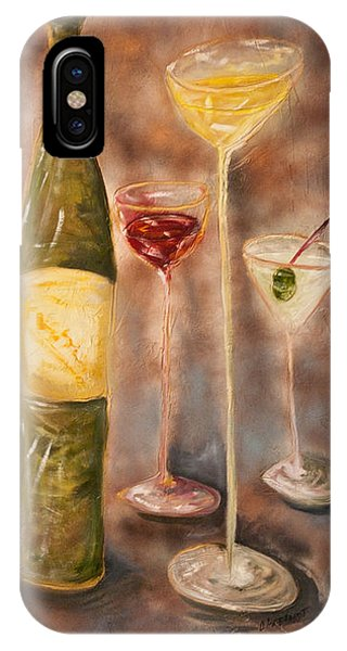 Wine Or Martini? IPhone Case