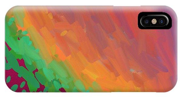Wingspan Of The Phoenix IPhone Case