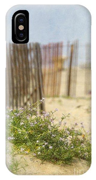 Winter Beach Scene IPhone Case