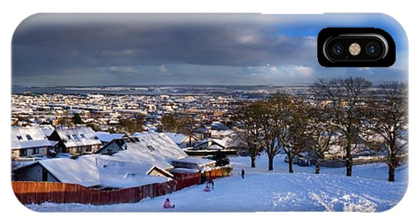 Winter In Inverness IPhone Case