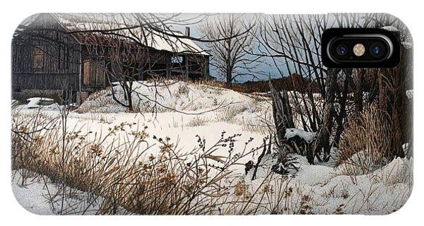 Winter In Prince Edward County IPhone Case