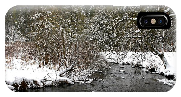 Winter On Bear Creek IPhone Case