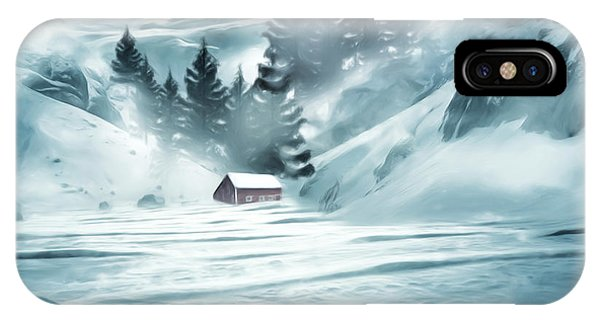 Winter Seclusion IPhone Case