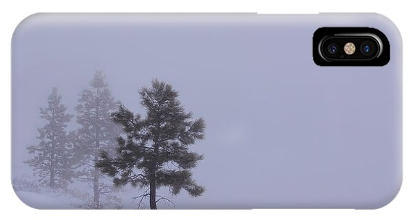Winter Silence IPhone Case