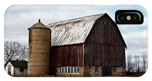 Wisconsin Dairy Barn IPhone Case